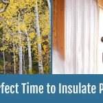 Fall Spray Foam Insulation Installation